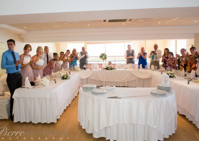 Small Wedding group at Sala Malaga