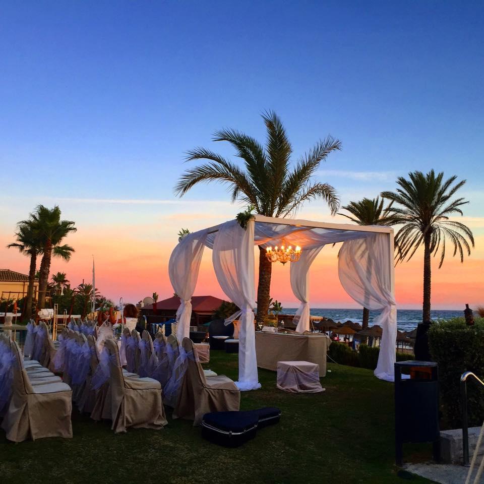 Estrella del mar beach club bespoke weddings spain - Estrella del mar beach club ...