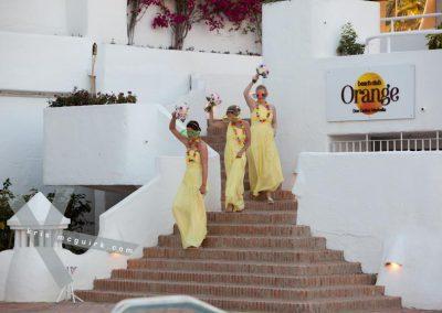 Entrance-of-bridesmaids