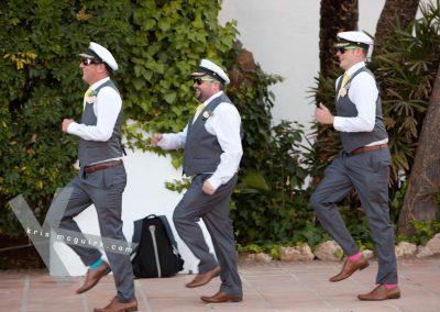 Entrance-of-groomsmen