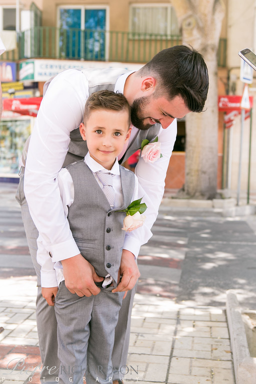Groom-and-his-little-boy