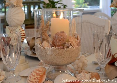 Shell-and-Candle-Centerpiece-in-Double-Bowl-Hurricane1