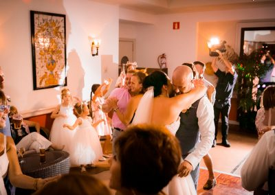 Dancing the Wedding night away