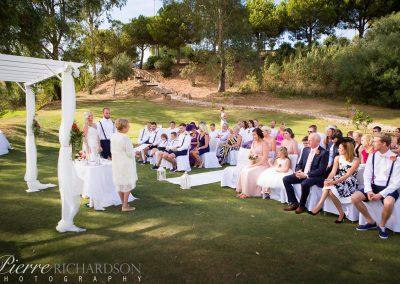 During Wedding Ceremony