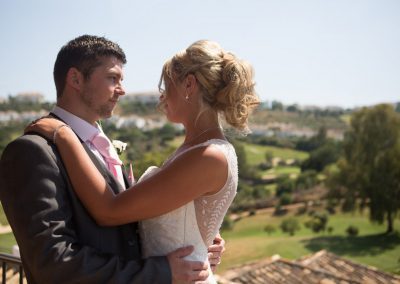 Just Married at La Cala Resort