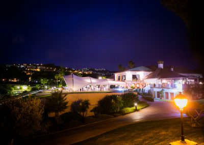La Cala Clubhouse by night