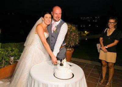 La Cala Wedding Cake