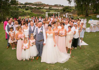 Wedding Group at La Cala