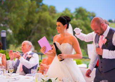 Wedding Speeches at La Cal
