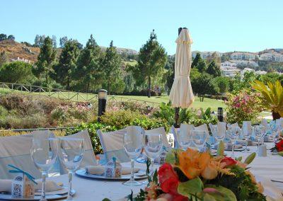 Wedding at La Cala Golf clubhouse