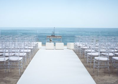 Blessing Ceremony overlooking the sea in Benalmadena