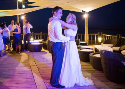 First dance at Luna Beach
