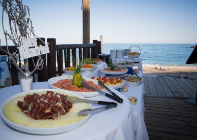 Luna Beach Club Buffet