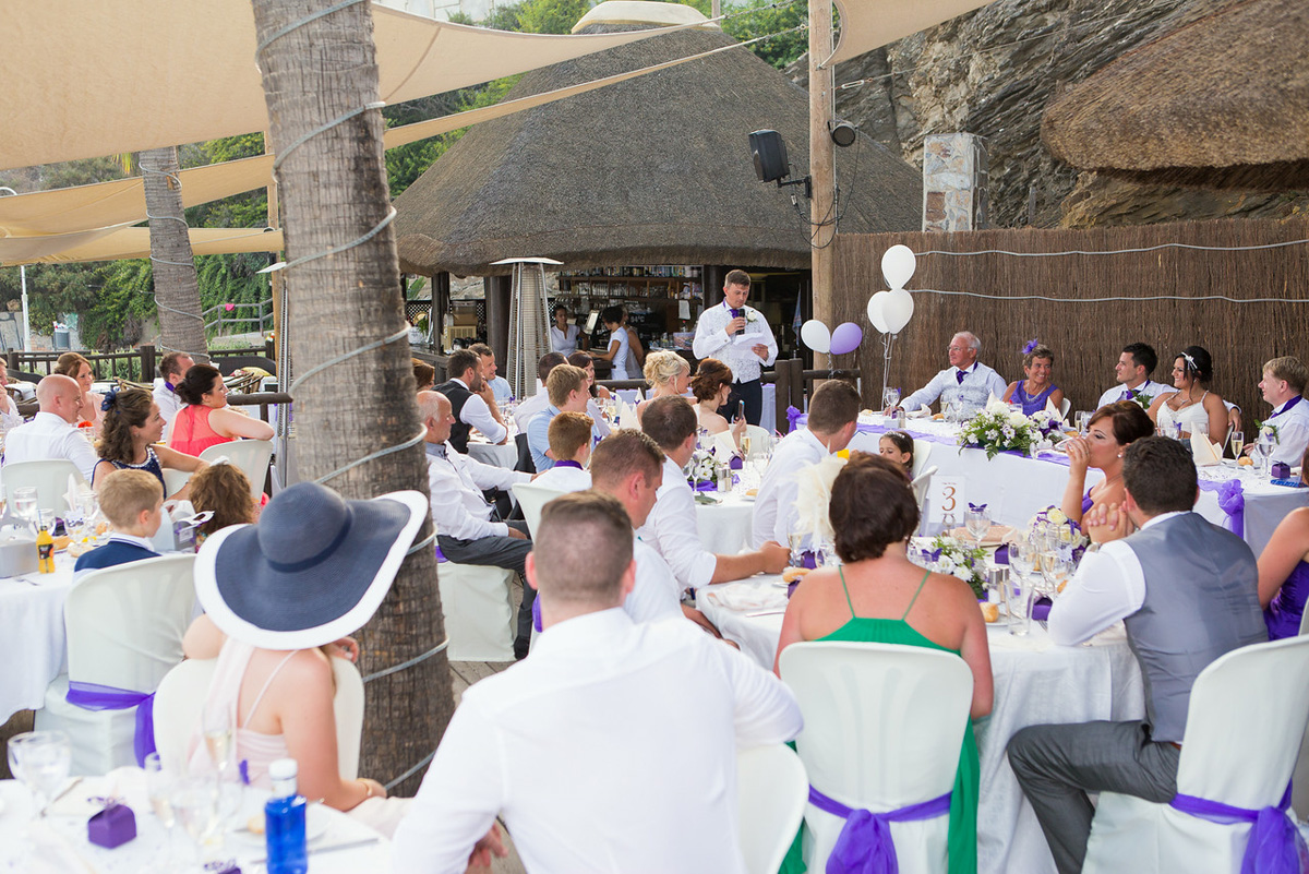 Luna beach club wedding