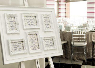Sample Wedding Table Plan