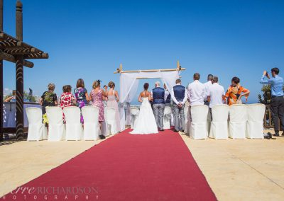Small Ceremony by the Sea in Spain