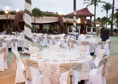 Wedding Banquet at Holiday World Beach Club Benalmadena