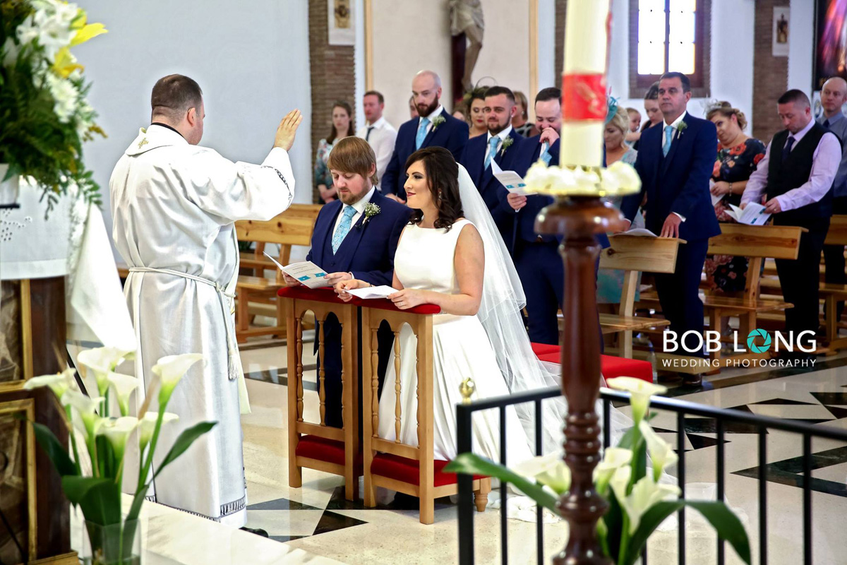 Nuptial Blessing in Church