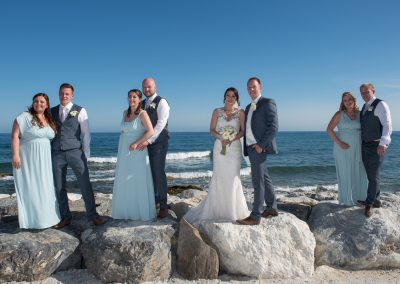 Bridal Party Benalmadena Beachfront