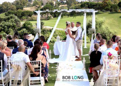 Ceremony at la Cala Resort