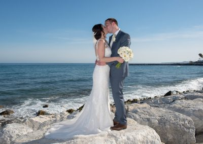 Wedding Photo by the Sea
