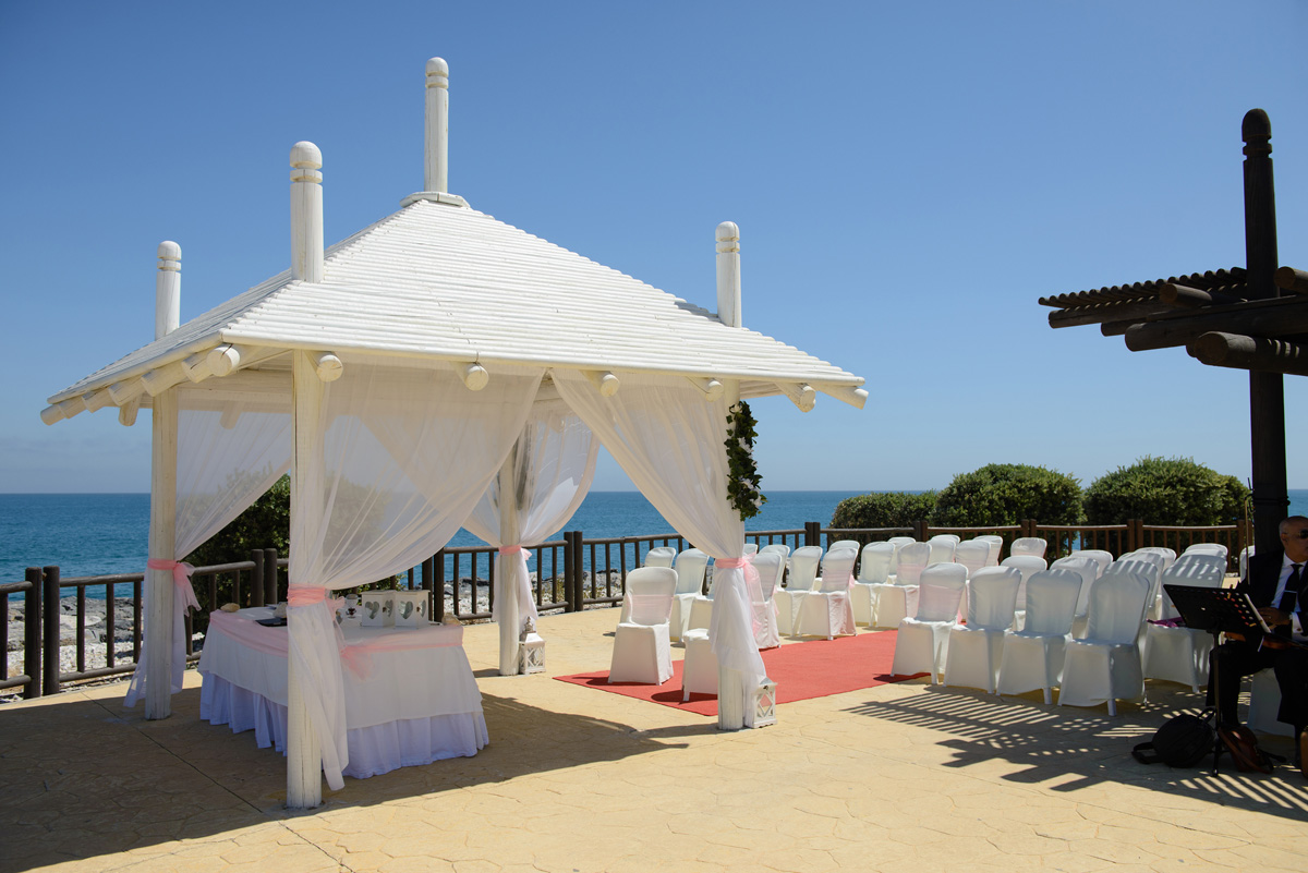 sunset beach club hotel bespoke weddings spain