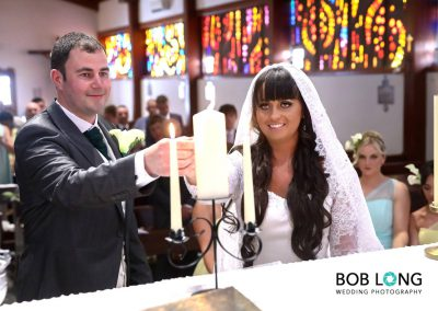 Lighting of the marriage candles