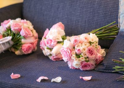 Rose bouquets by bunches