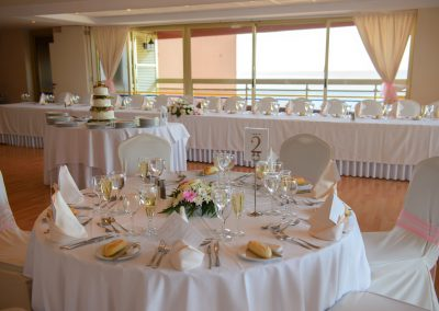 Wedding at Sala Malaga Room in Sunset beach Club