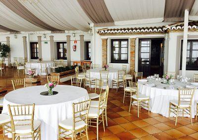 Wedding tables at Finca Dulzura