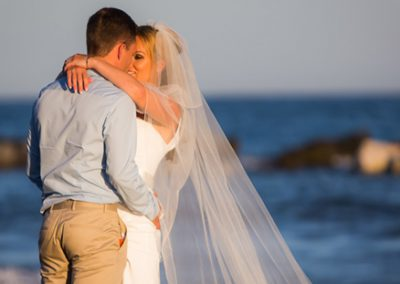 Bride-and-Groom-by-sea