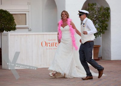 Bride-and-groom-arrival
