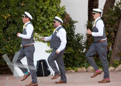 Entrance-of-groomsmen