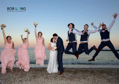 Bridal party Cheer!