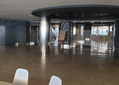 Disco area of funcion suite