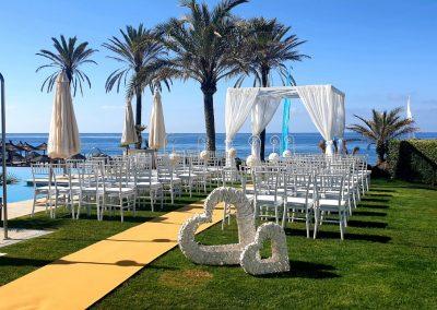 Ceremony at Estrella Spa