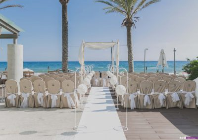 Marbella Beach Wedding Ceremony