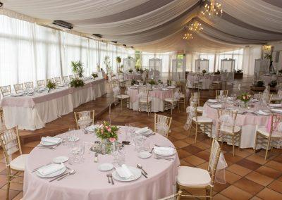 Wedding venue set up Benalmadena Finca