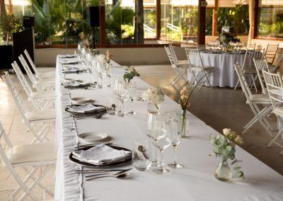 Top table at Gran Melia Don Pepe